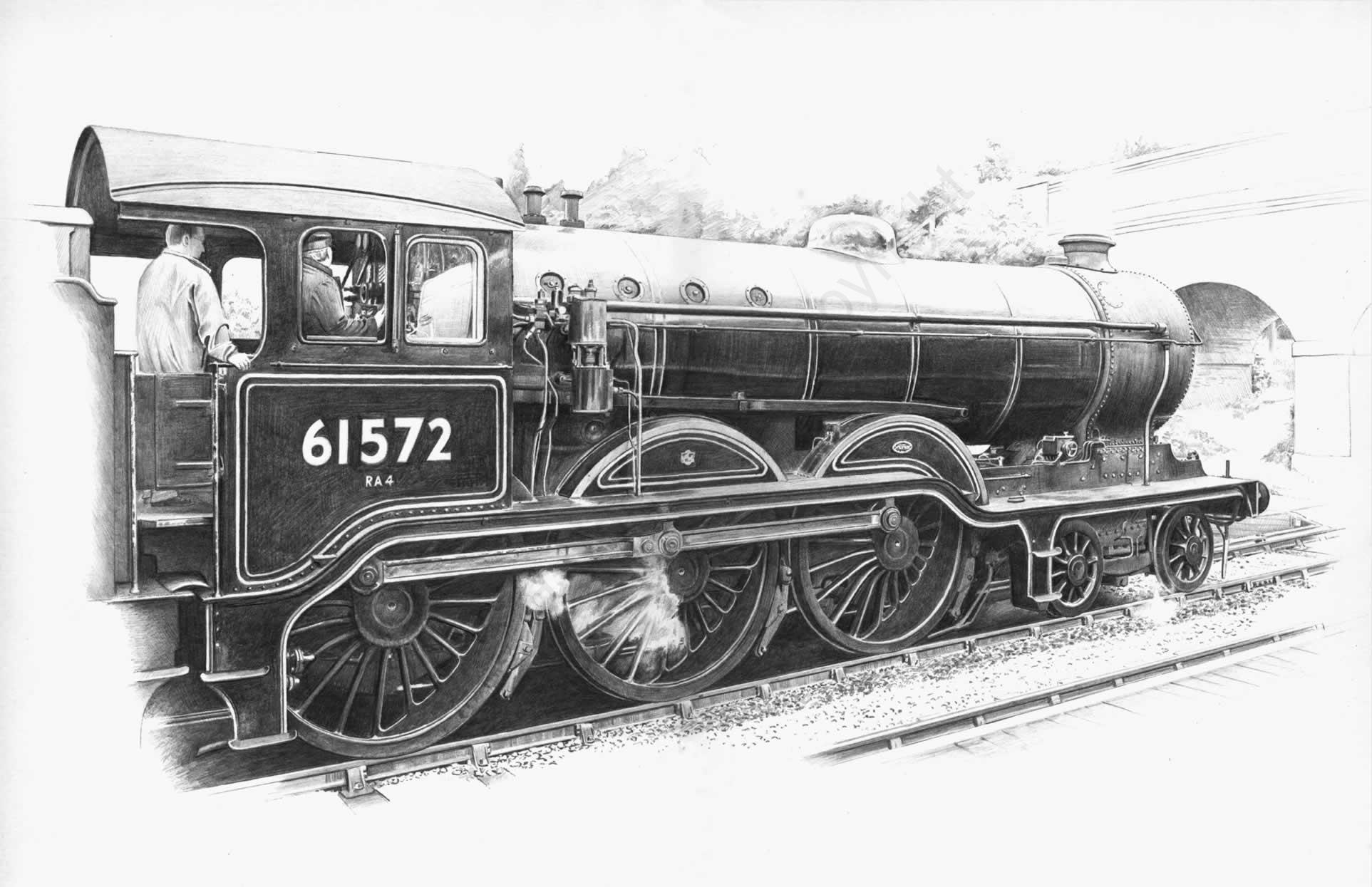 B12 61572 at Weybourne