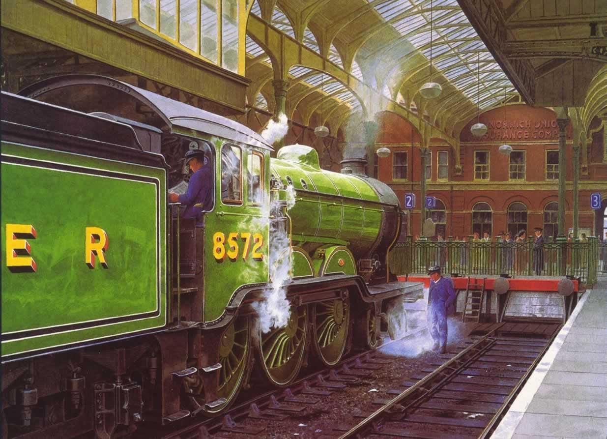 B12 8572 at Norwich Thorpe