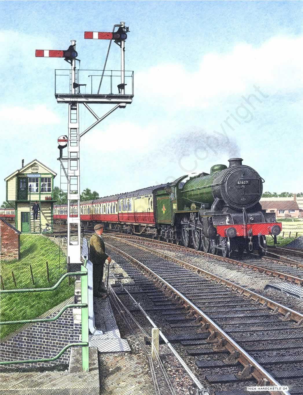 B17 approaching Wroxham