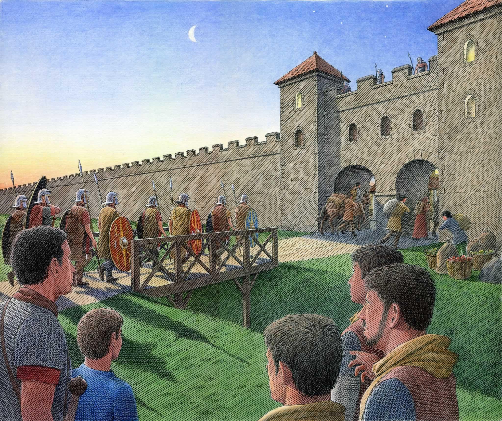 Birdoswald Fort-English Heritage magazine