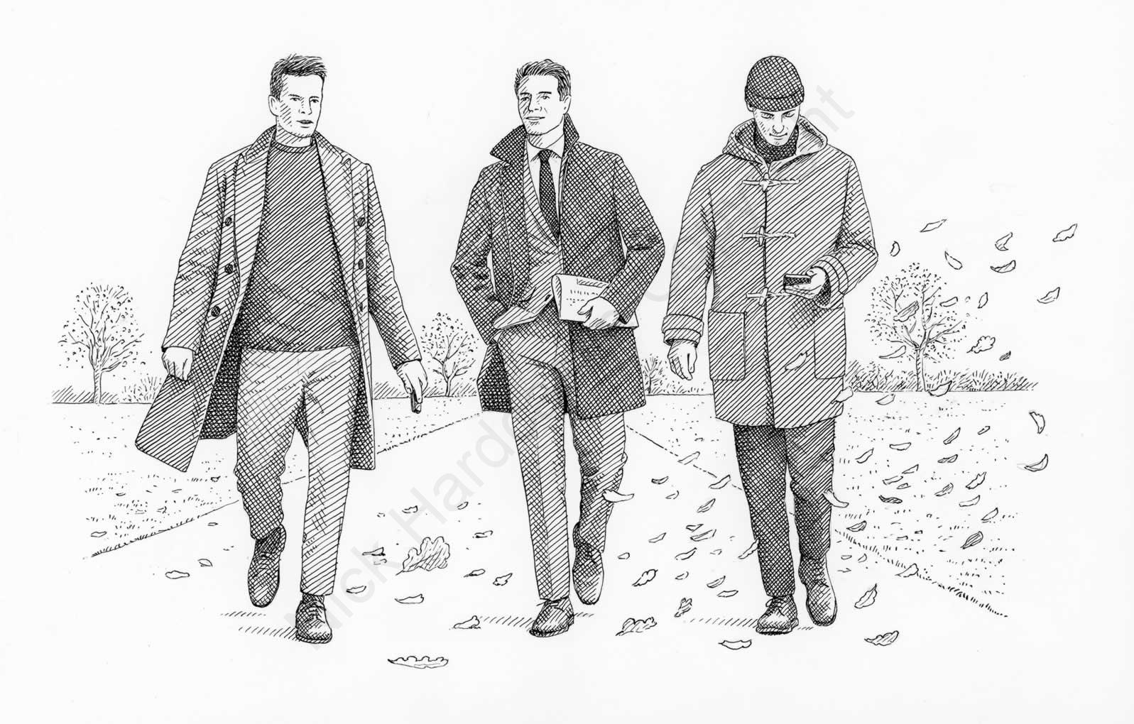 How to pick a Coat-Mr Porter