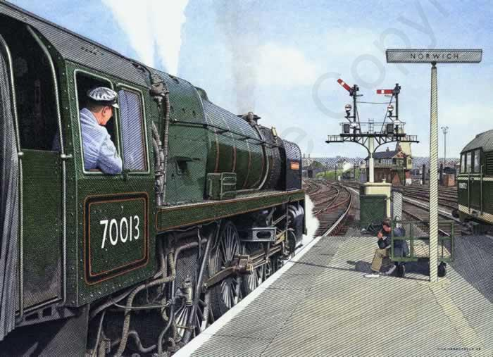 Oliver Cromwell at Norwich