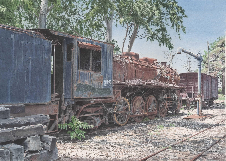 Railway Graveyard Greece