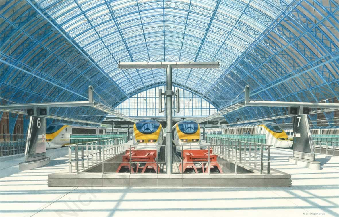 St Pancras International aw
