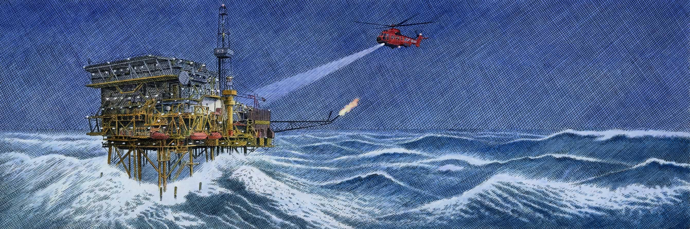 Storm at Sea-Andrew Hillier