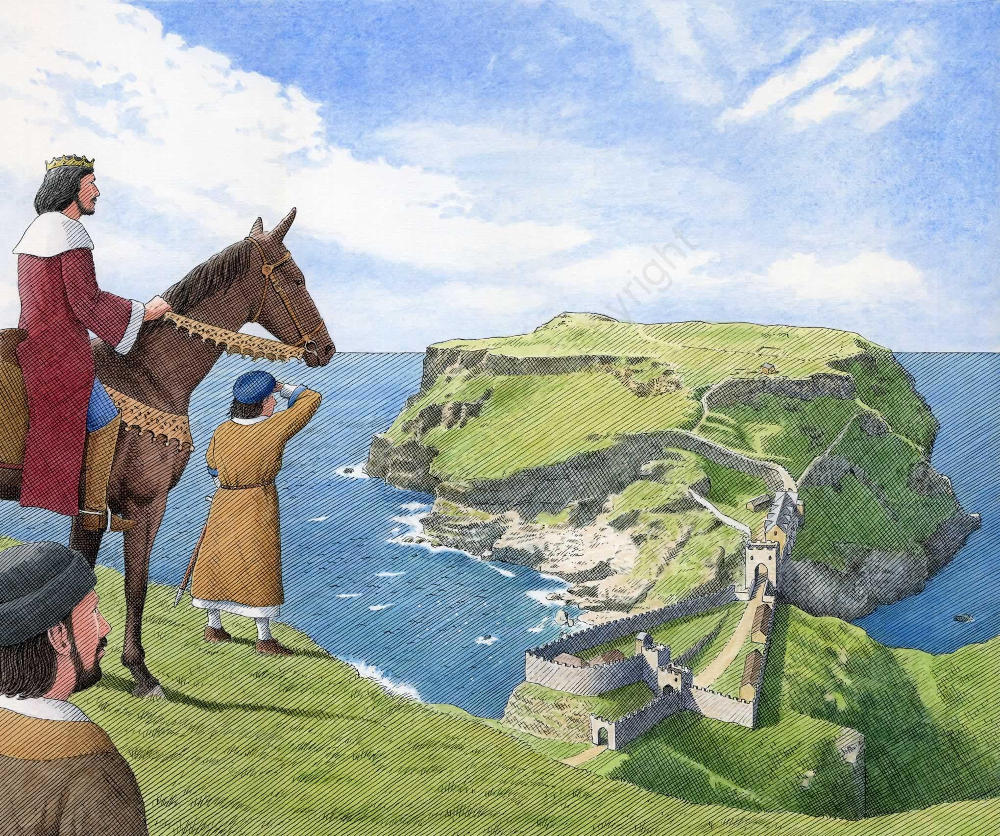 Tintagel Castle - English Heritage magazine
