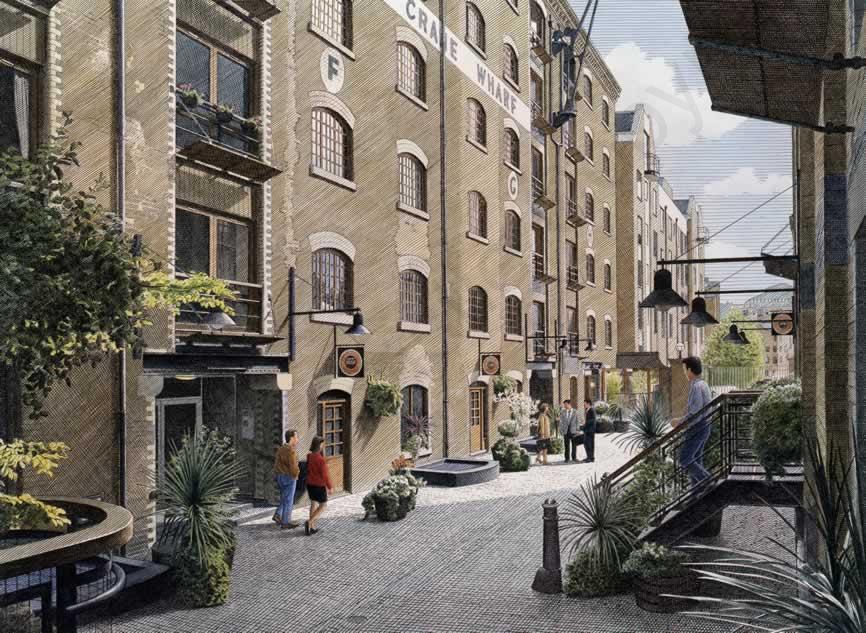 Crane Wharf - Wapping underground