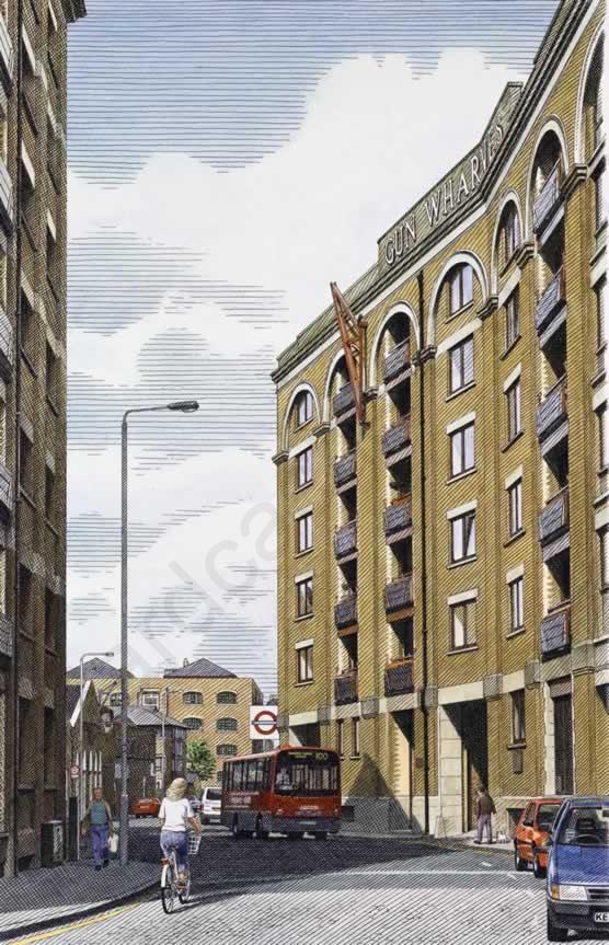 Gun Wharfs - Wapping underground